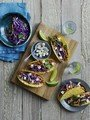 Spicy Chicken Tacos with Fetta and Slaw